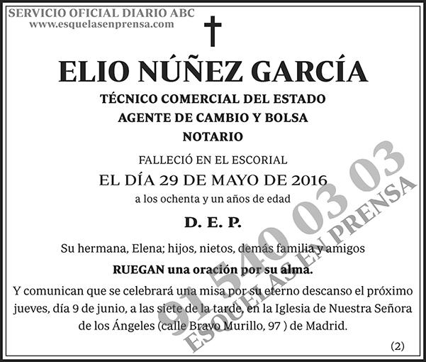 Elio Núñez García